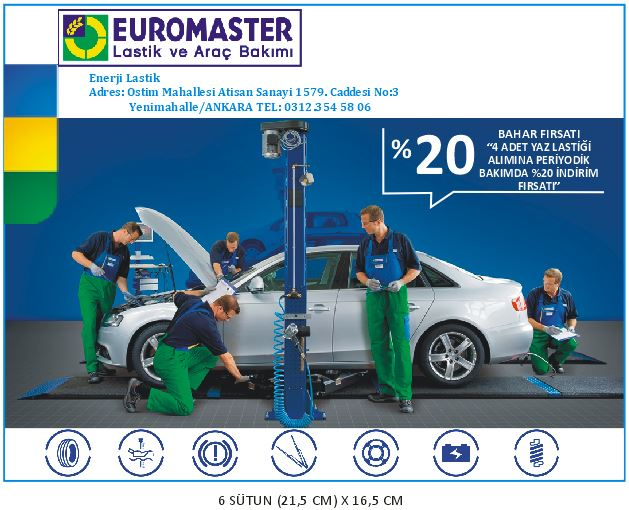 gazete ilanı euromaster hürriyet ilan