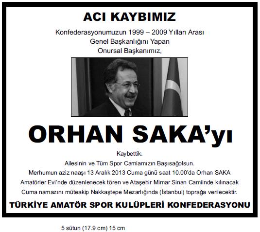 orhan saka