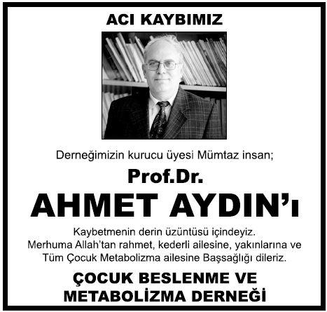 prof-dr-Ahmet-Aydin vefat ilanı