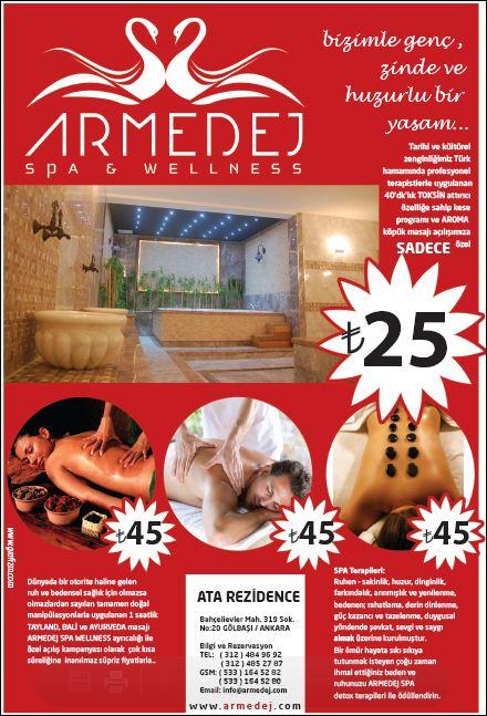 armedej spa gazete ilanı