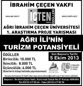 ibrahim çeçen vakfı gazete ilani