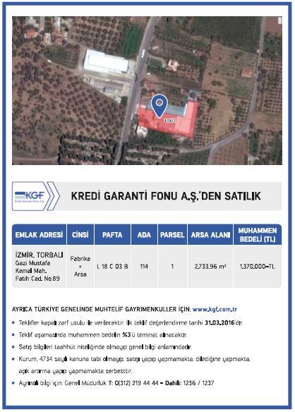kgf  satılık arsa ilanı