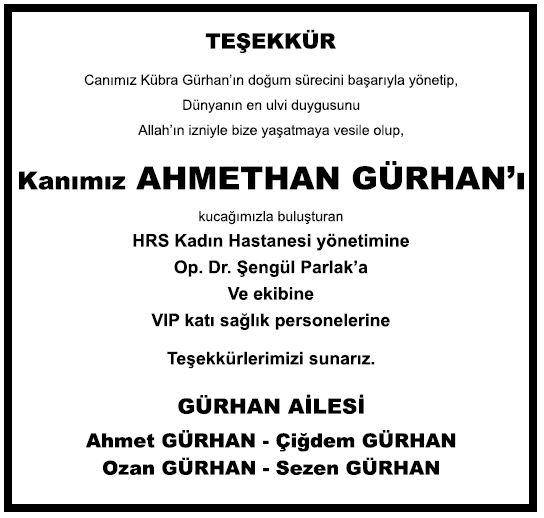 ahmethan gürhan