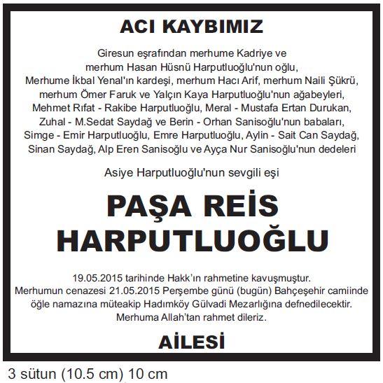 paşa reis harputluoğlu
